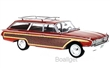 FORD COUNTRY SQUIRE 1960 RED / WOODEN