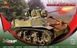 U.S. LIGHT TANK M5A1 LATE 3RD ARMD. DIV. NORMANDY JULY 1944