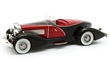 DUESENBERG J SWB FRENCH TRUE SPEEDSTER BY FIGONI J-465-2509 1931 BLACK / RED