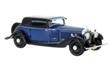 ROLLS ROYCE PHANTOM II CONTINENTAL WINDOVERS COUPE 1932 BLUE