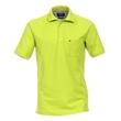Pánská polokošile Casa Moda 5XL - 6XL krátký rukáv žluto zelená