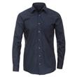 Pánská košile Casa Moda Comfort Fit tmavě modrá dlouhý rukáv vel. 43 - 46 (XL - XXL)
