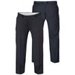 Pánské společenské kalhoty KS1406N tmavě modré