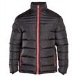 Pánská černá zimní bunda KS13949C 7XL - 8XL
