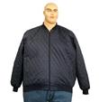 Pánská bunda jarní - podzimní černá 7XL - 8XL