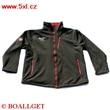 Pánská funkční bunda Softshell černá vodní sloupec 3.000
