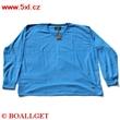 Pánské tričko modré s dlouhým rukávem
