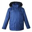 Pánská zimní funkční bunda - parka Deproc Dawson šedo-modrá vodní sloupec 8000 mm 5XL až 8XL