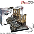PUZZLE 3D CUBIC FUN JS4201H NĚMECKÝ TANK TIGER I