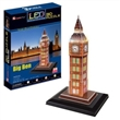 BIG BEN CUBICFUN 3D PUZZLE LED L501H