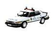 Saab 900i Polis Stockholm 1987