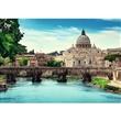 PUZZLE TREFL 10449 1000 dílků ANDĚLSKÝ MOST ŘÍM