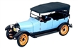 REO TOURING 1917 LIGHT BLUE