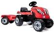 SMOBY 710108 ŠLAPACÍ TRAKTOR FARMER XL S PŘÍVĚSEM RED