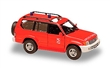 TOYOTA LAND CRUISER 2000 RED