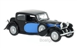 BUGATTI 57 GALIBIER 1934 BLUE / BLACK