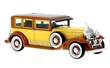 CADILLAC V16 LWB IMPERIAL SEDAN 1930 YELLOW / BROWN WHITE BOX WB182