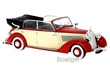 MERCEDES 230 W153 CONVERTIBLE 1939 RED / BEIGE