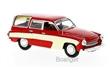 WARTBURG 312 CAMPING 1960 RED / BEIGE
