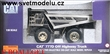 CAT 777D OFF HIGHWAY TRUCK COMMEMORATIVE SILVER SP
